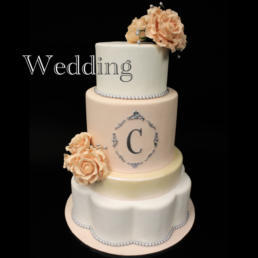Custom Wedding Cakes in Birmingham Alabama by the Cakerie